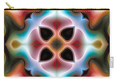 Carry-all Pouch featuring the digital art Mandala 82 by Terry Reynoldson