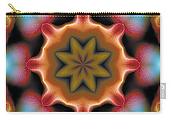 Carry-all Pouch featuring the digital art Mandala 94 by Terry Reynoldson