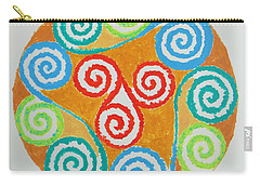 Carry-all Pouch featuring the painting Mandala by Sonali Gangane