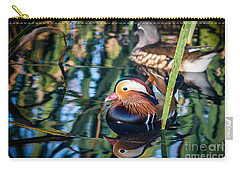 Mandarin Duck Reflections Carry-all Pouch