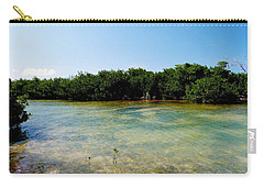 Carry-all Pouch featuring the photograph Mangrove @ Safehaven Sound by Amar Sheow