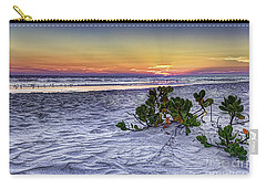 Mangrove On The Beach Carry-all Pouch by Marvin Spates