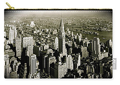 Manhattan And Chrysler Building II Carry-all Pouch