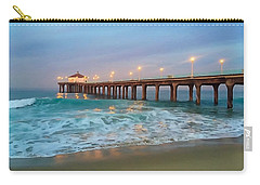 Manhattan Beach Reflections Carry-all Pouch