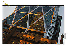 Manhattan Blues And Oranges Carry-all Pouch
