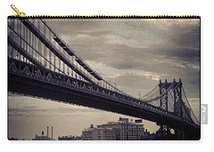 Manhattan Bridge In Ny Carry-all Pouch