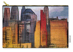 Beautiful City Manhattan Digital Painting Carry-all Pouch