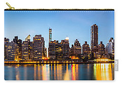 Manhattan Panorama And Queensboro Bridge Carry-all Pouch