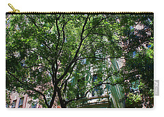 Carry-all Pouch featuring the photograph Manhattan Upper East Side Late Summer by Andy Prendy