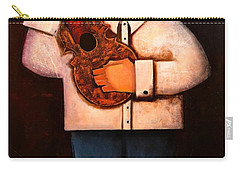 Carry-all Pouch featuring the painting Manolito El Cuatrista 1942 by Oscar Ortiz