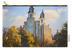 Manti Temple Carry-all Pouch