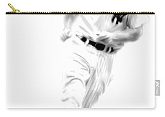 Mantles Gate  Mickey Mantle Carry-all Pouch by Iconic Images Art Gallery David Pucciarelli