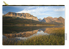 Carry-all Pouch featuring the photograph Many Glacier Reflections by Jack Bell