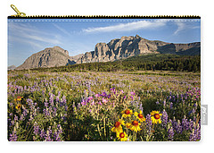 Carry-all Pouch featuring the photograph Many Glacier Spring by Jack Bell