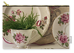 Carry-all Pouch featuring the photograph Many Rose Designs Still Life  by Sandra Foster