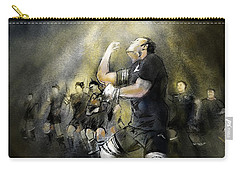 Maori Haka Carry-all Pouch by Miki De Goodaboom