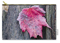 Maple Leaf - Uw Arboretum - Madison Carry-all Pouch