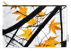 Carry-all Pouch featuring the photograph Maple Leaves by Jonathan Nguyen