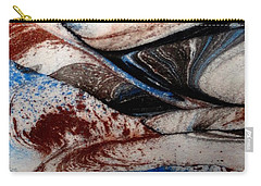 Carry-all Pouch featuring the painting Marble 4 by Mike Breau