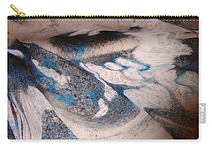 Carry-all Pouch featuring the painting Marble 7 by Mike Breau