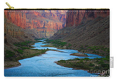 Marble Canyon Rafters Carry-all Pouch by Inge Johnsson