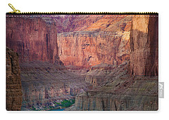 Marble Cliffs Carry-all Pouch by Inge Johnsson