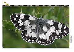 Marbled White Carry-all Pouch