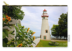 Marblehead Lighthouse Carry-all Pouch by The Art of Alice Terrill