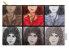 Marc Bolan Glam Rocker Collage Carry-all Pouch