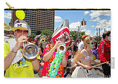 Carry-all Pouch featuring the photograph Marching Band by Ed Weidman