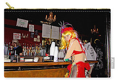 Mardi Gras Bar French Quarter Carry-all Pouch by Luana K Perez