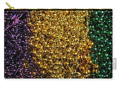 Mardi Gras Beads - New Orleans La Carry-all Pouch