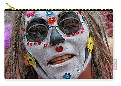 Mardi Gras Happy Face Carry-all Pouch
