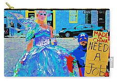 Mardi Gras New Orleans Carry-all Pouch