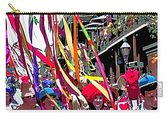 Mardi Gras Marching Parade Carry-all Pouch