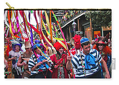 Mardi Gras In New Orleans Carry-all Pouch by Luana K Perez