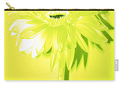 Margarita Zinnia Carry-all Pouch by Sherry Allen