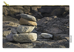 Marginal Way Cairn - York - Maine Carry-all Pouch