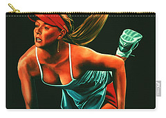 Maria Sharapova  Carry-all Pouch by Paul Meijering