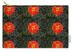 Marigold Mighty Carry-all Pouch by Kathy Bassett