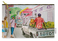 Marigot St. Martin Carry-all Pouch by Frank Hunter