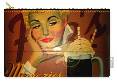 Carry-all Pouch featuring the photograph Marilyn And Fitz's by Kelly Awad