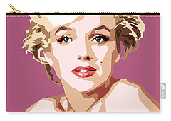Marilyn Carry-all Pouch by Douglas Simonson