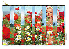 Marilyn In Poppies 1 Carry-all Pouch