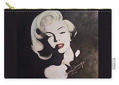Marilyn In The Moonlight Carry-all Pouch