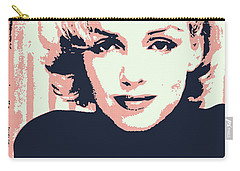 Marilyn M Carry-all Pouch by Chungkong Art