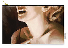 Marilyn Monroe Artwork 1 Carry-all Pouch by Sheraz A