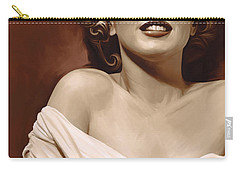 Marilyn Monroe Artwork 2 Carry-all Pouch by Sheraz A