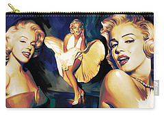 Marilyn Monroe Artwork 3 Carry-all Pouch by Sheraz A