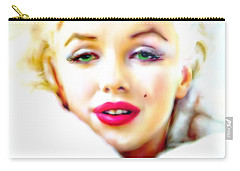 Marilyn Monroe Carry-all Pouch by Barbara Chichester